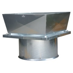 Heavy Duty Roof Mounted Axial Fan - Vertical Discharge